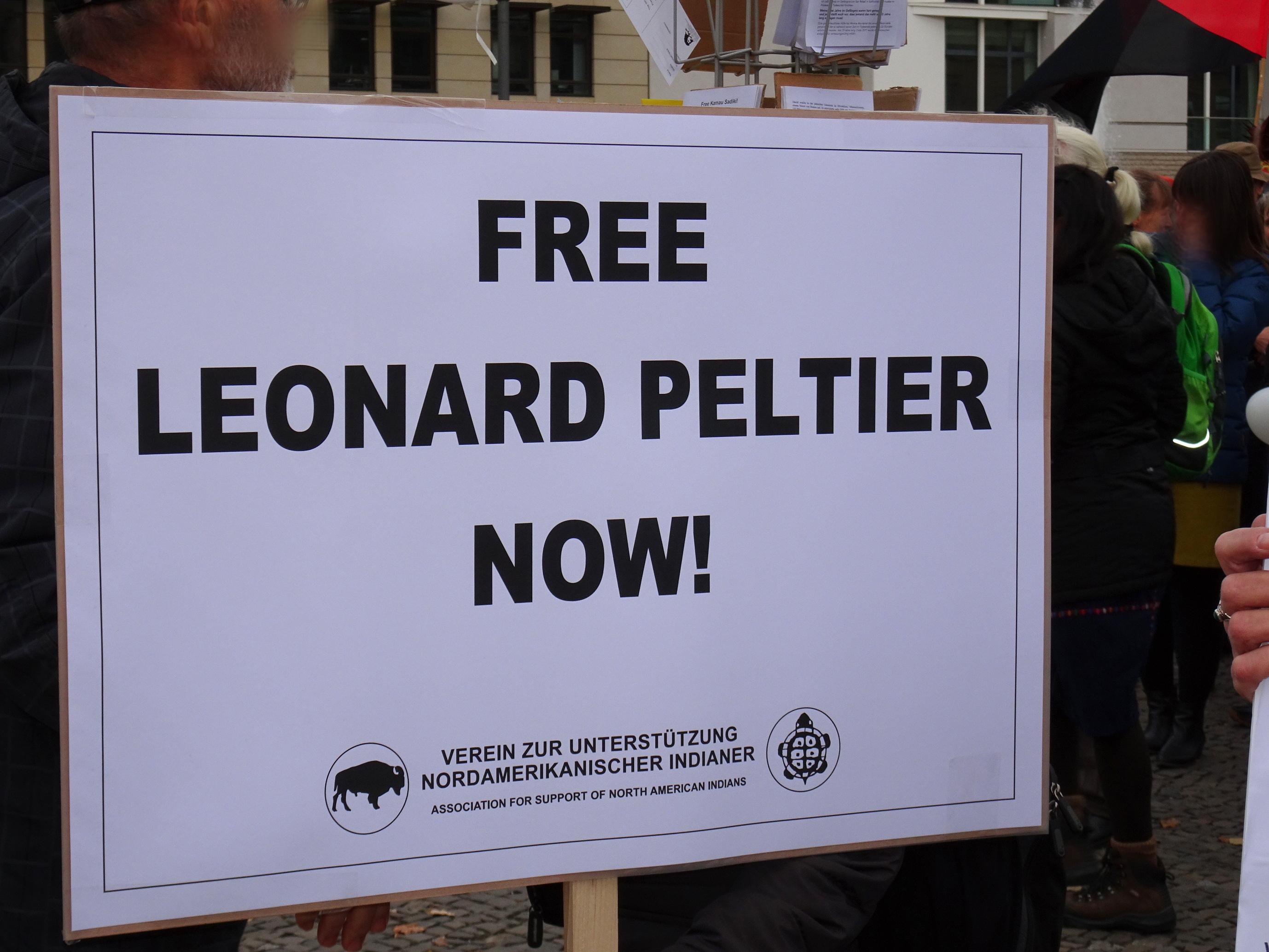 Free Leonard Peltier Now!